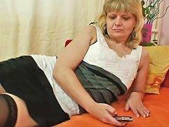 Granny Woman Filipa Groans Like Avid When Masturbates Upornia Com