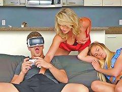 Vr Porn And Virtual Step Mother Moms Bang Teens