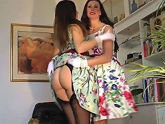 Glamour Milf In Stockings Shows Off Ass Porn Ee Xhamster