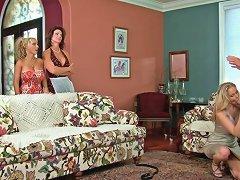 Moms Darla Crane Deauxma Holly Halston And Julia Ann Sharing Cock