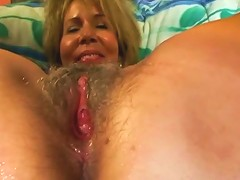Granny Pussy Gets Some Dick Filling