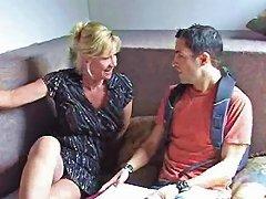 Mrs Morgan Fucks Chris In His Dorm Room Porn Videos