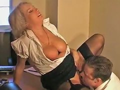 Crazy Amateur Video With Blonde Stockings Scenes