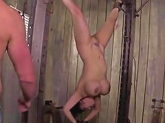 Kinky Big Titted Asian Milf Gets Tied Punished And Dp