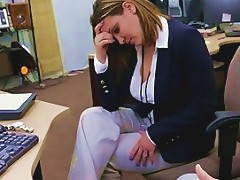 Busty Wife Pawns Twat For A Plane Ticket