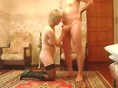 Curvy Mature In Boots And Stockings Makes Anal Porn