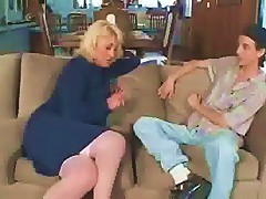 Cougar Put That Dick Deep In Her Pink Pussy