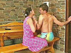 Mother And Boyfriend Having Passionate Sex
