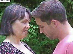 Big Breasted British Mom Fucking