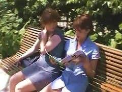 2 French Non Professional Milfs Drilled Very Hard