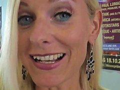 German Blond Milf Dirty Tina After Venus Party
