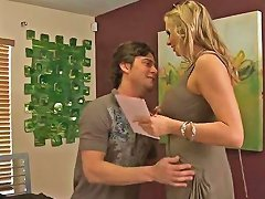 Awesome Milf Fucks A Young Dick In A Doggy Style Fuck