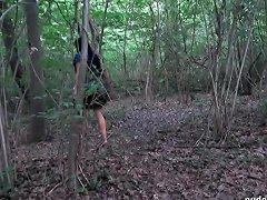 Amateur MILF Gets Laid Outdoor And Ass Fucking Home In POV