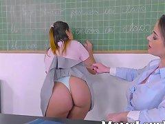 Milf Teacher Shows The Wonders Of Lesbian Love To A Hot Teen