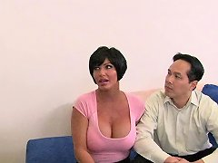 Black Doctor Dude Fucks Astonishing Dark Haired Milf Shay Fox While Her Man Is There