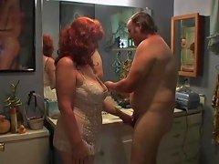 Hot Redhead Milf Fucked Inj Bathroom