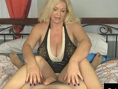 Busty Mature Milf Charlee Chase Strokes Your Hard Cock