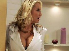 Busty Hot Milf Nurse