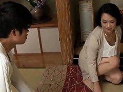 Japanese Milf In Blowjob Action In The Office Drtuber