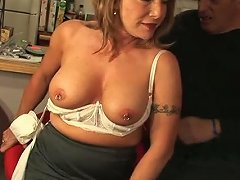 Hungry For Cock Mature Woman Sucking Meat Pole Deepthroat